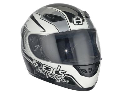 Helm Speeds Integral Performance II Racing Graphic silber