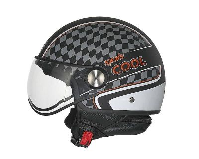 Helm Speeds Jet Cool Graphic schwarz / weiß soft-touch