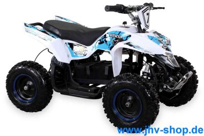 Kinder Elektro Miniquad Fox XTR 1000 Watt Weißer Body