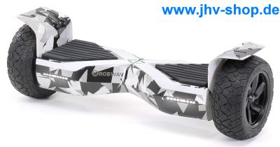 E-Balance Hoverboard ROBWAY X1 8,5' Reifen mit App-Funktion