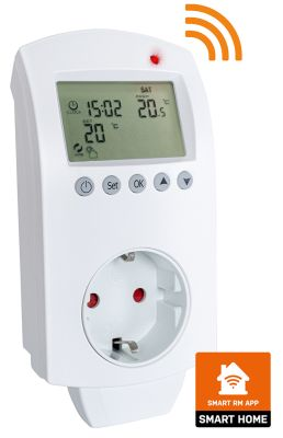 Heidenfeld digitales Steckdosenthermostat Smart Home WIFI HF-DT105