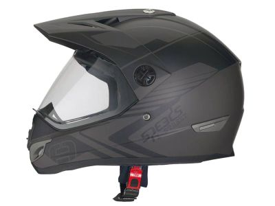 Helm Speeds Cross X-Street Dekor sepia / schwarz matt