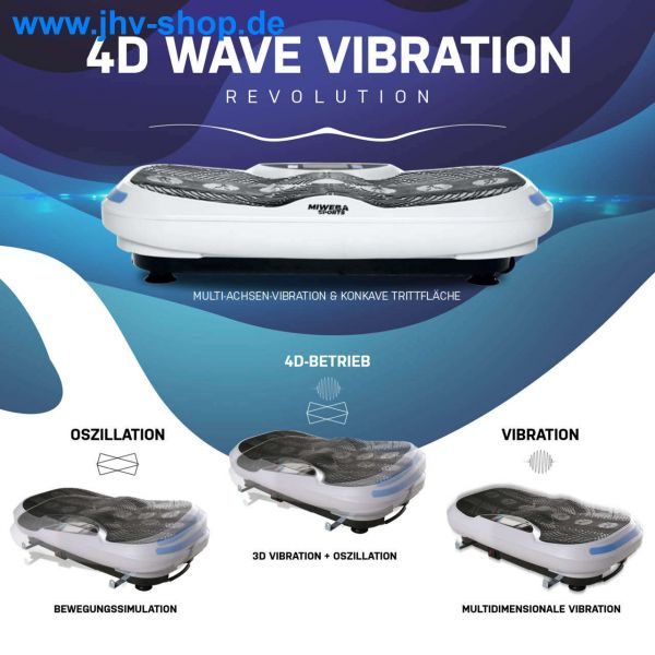 Sports MV300 4D Wave Vibrationsplatte