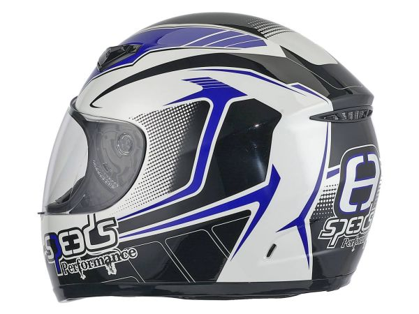Helm Speeds Integral Performance II Racing Graphic blau