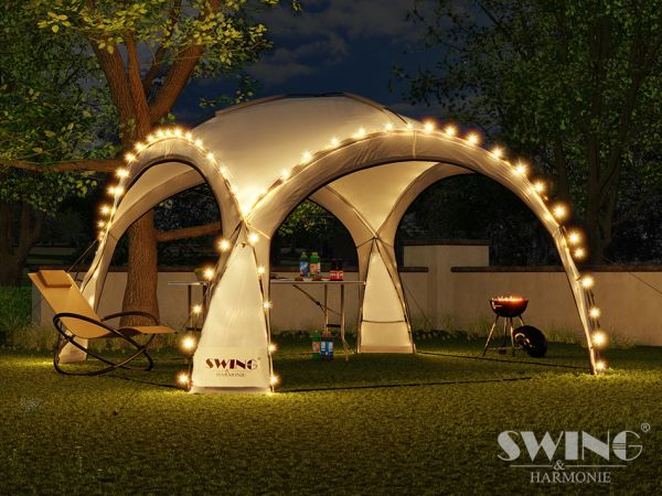 "LED - Event Pavillon XXL - ""DomeShelter"""