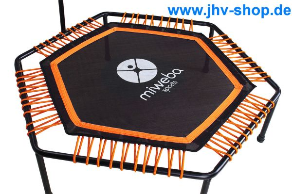JUMPNESS Fitness Trampolin Hexagon 48` inklusive Pad