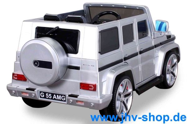Elektro  Mercedes Benz AMG G55 Jeep Metallic Lackierung