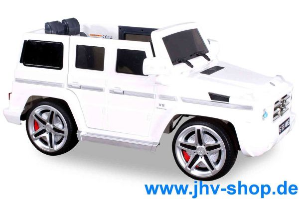 Elektroauto Mercedes Benz AMG G55 Jeep High Door mit 2 x 35 Watt Motor