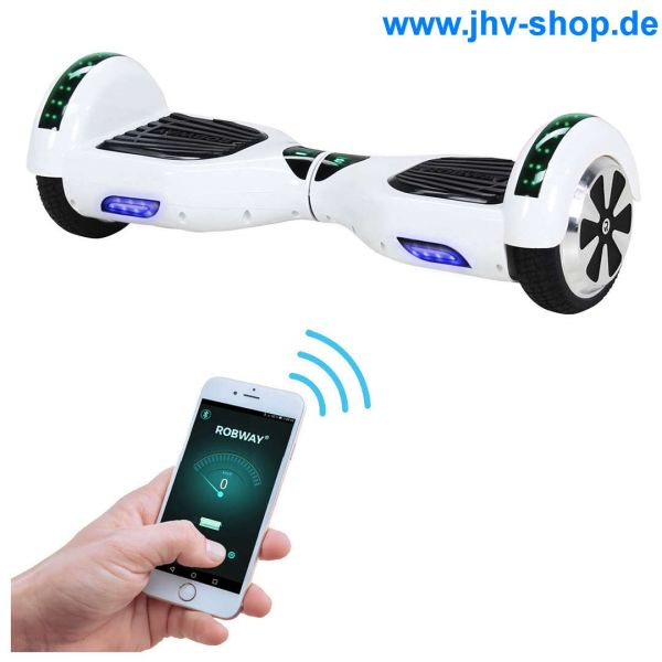 E-Balance Hoverboard ROBWAY W1 UL2272 ROBWAY