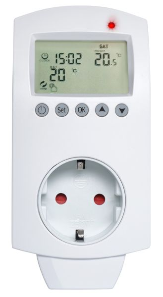 Heidenfeld digitales Steckdosenthermostat HF-DT100